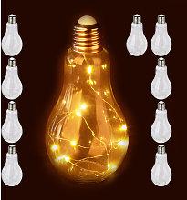 Set de 10 lámparas decorativas LED, Lámpara de