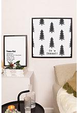 Set de 2 Láminas Decorativas de Navidad (50x50 y