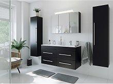 Set de baño Helios 4U incl. armario con espejo in