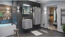 Set de mueble de baño Firenze 60 (4 part./C) Gris