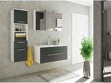 Set de mueble de baño SANTINI 100 3 Partes Negro
