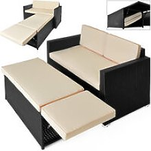 Set Lounge de poliratán Juego de muebles de