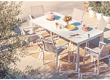 Set Mesa Extensible (180 - 240 cm) Starmi & 6