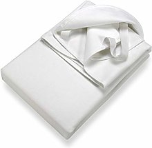 Setex Molleton, Protector de colchón, Blanco, 180