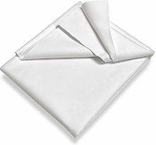 Setex Molleton, Protector de colchón, Blanco, 40
