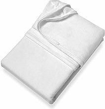 SETEX Protector de colchón, Algodón, Blanqueado,