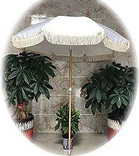 SHANJ Paraguas de Borla de Patio de 2 m / 7