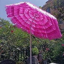 SHANJ Paraguas Tiki de Terraza de Paja de 2 m /