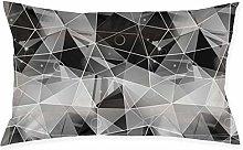 Shanzhi - Funda de cojín con diseño poligonal de