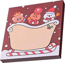 Sheey 50 Hojas Post-it de Navidad Pegatina Saludos
