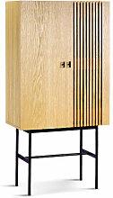 SHIITO- Vitrina alta 2 puertas modelo FABRIC