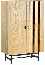 SHIITO- Vitrina de 2 puertas modelo FABRIC , 80 x