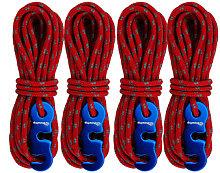 ShineTrip - Cuerda de viento gruesa para tienda,