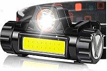 SHIYIMY Linternas Frontales USB Recargable LED