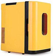 SHKUU Mini Nevera con congelador Vintage Lindo