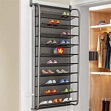 Shoe cabinet behind the door, multifunctional shoe