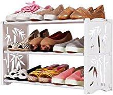 Shoe rack ZI Ling Shop- Pequeño Zapatero de Acero