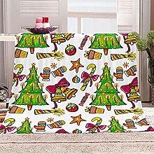 SHOMEY Manta de Franela árbol de Navidad 100x130