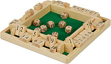 Shut The Box de 10 Fichas, Juego de Mesa, 4