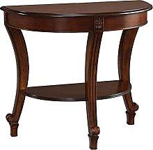 Side table-Q Mesa Lateral De Madera Maciza Retra,
