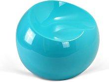 Silla Ball Chair Finn Stone Style Turquesa