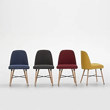 Silla Canary Pack 2Uds Rojo