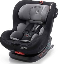 Silla de coche de bebé Biro Fix 360 0+1+2 negra y