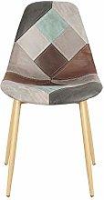 Silla de comedor de madera maciza simple silla del