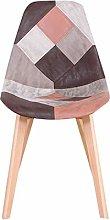 Silla de comedor silla de madera maciza simple