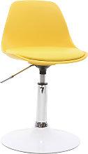 Silla de escritorio diseño infantil amarillo