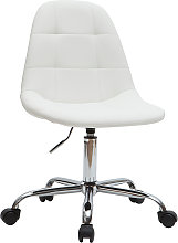 Silla de escritorio moderna blanca COX