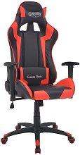 Silla de escritorio reclinable Racing de cuero