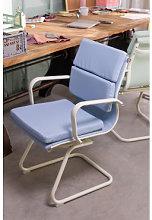 Silla de Oficina con Reposabrazos Mina Colors Azul