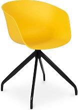 Silla de oficina de diseño Amarillo