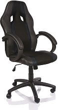 Silla de oficina Racing Silla de escritorio (Negro