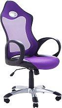Silla de oficina violeta iCHAIR