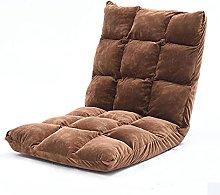 Silla de piso ajustable de 6 posiciones, sofá