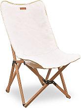 Silla de playa de madera, silla de camping