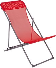 Silla de playa Penco rojo - Rojo - Bo-camp