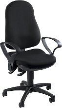 Silla escritorio giratoria Punto 70 negro