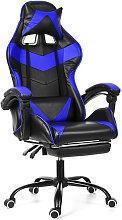 Silla Gaming Gamer -Giratoria 150 ° - Azul LAVENTE