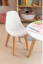 Silla Mini Scand Nordic Kids Blanco Sklum