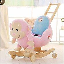 Silla oscilante de dos en uno, juguete para niños