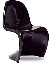 Silla Panton Style - Negro
