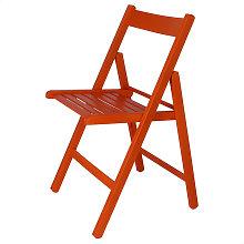Silla plegable BAS naranja