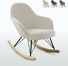 Silla Sillón mecedora hamaca de diseño moderno