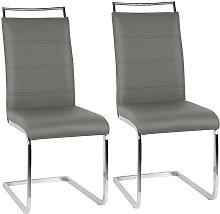 ® Sillas de comedor 2 unidades - asientos de