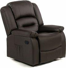 Sillón de masaje MAXIMUM ECO-8198 NEGRO