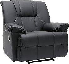 Sillón de  Relax ROSS de color negro