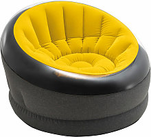 Sillón inflable empire en amarillo INTEX
